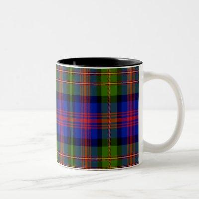 Maclennan Scottish Tartan Two-Tone Coffee Mug