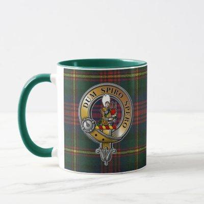 MacLennan Tartan & Badge Mug