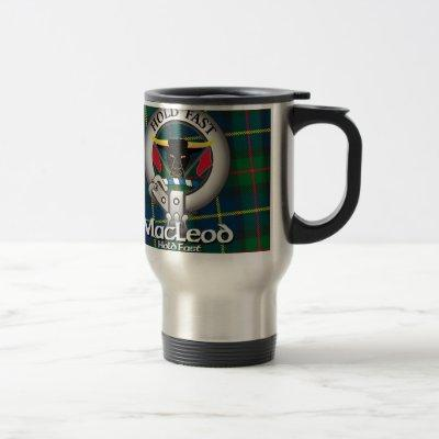 MacLeod Clan Travel Mug