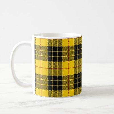 MacLeod Scottish Clan Tartan Plaid Pattern Coffee Mug