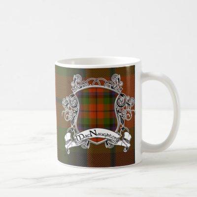 MacNaughton Tartan Shield Coffee Mug