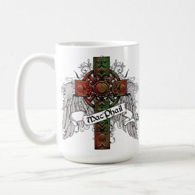 MacPhail Tartan Cross Coffee Mug