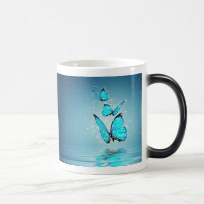 Magic Butterflies Morph Mug