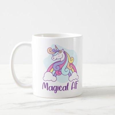 Magical AF | Unicorn Coffee Mug