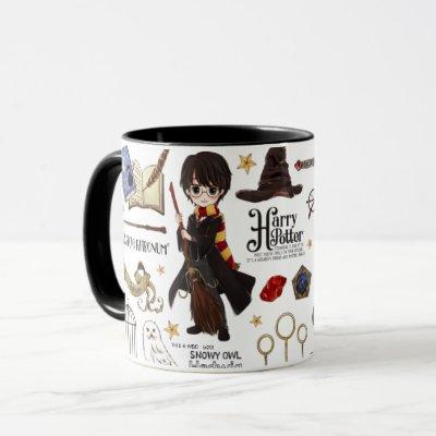 Magical HARRY POTTER™ Watercolor Mug
