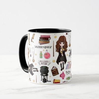 Magical Hermione Granger Watercolor Mug