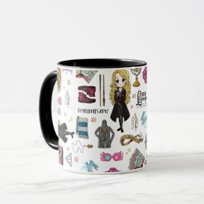 Magical Luna Lovegood Watercolor Mug