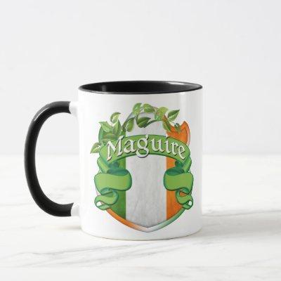 Maguire Irish Shield Mug