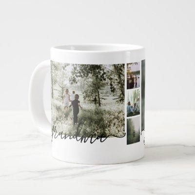 Make a Personalized family Photo keepsake Giant Coffee Mug
