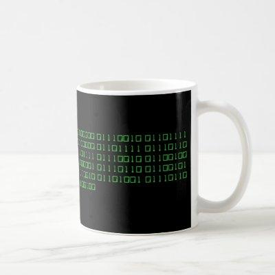 Make your own binary mug