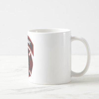 Maltese Cross - Lieutenant (black helmet) Coffee Mug