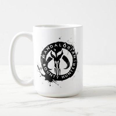 Mandalorian Bounty Hunter Inked Icon Coffee Mug