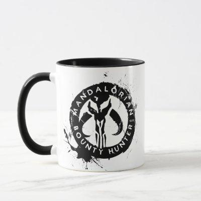 Mandalorian Bounty Hunter Inked Icon Mug