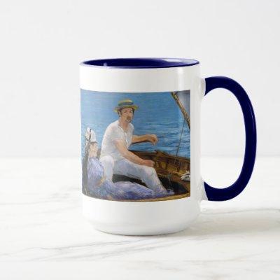 Manet Boating Mug