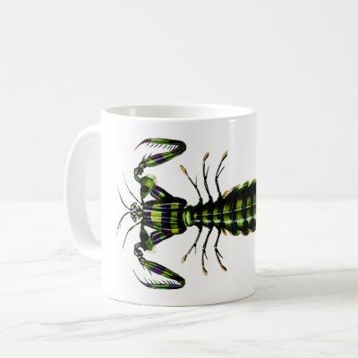 Mantis Shrimp - Vintage Design Coffee Mug