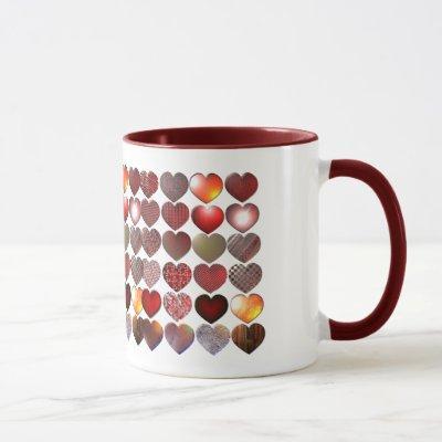 Many Hearts Mug