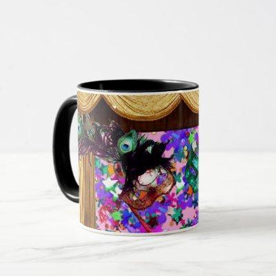 MARDI GRAS MASQUERADE MASKS Colorful Confetti Mug