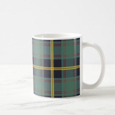 Marine Tartan Coffee Mug