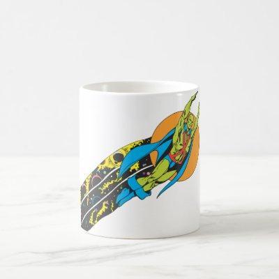 Martian Manhunter Takes Flight Coffee Mug