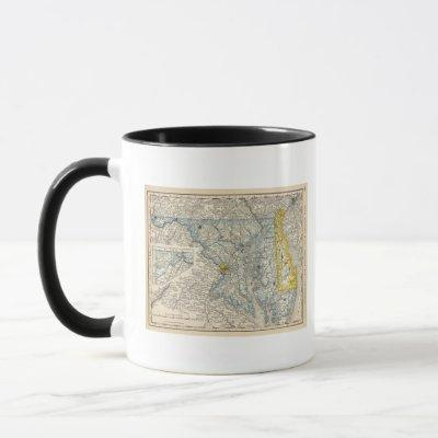 Maryland, DC, and Delaware Mug