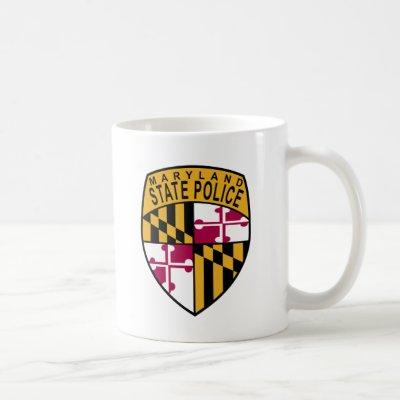 Maryland State Police Coffee Mug