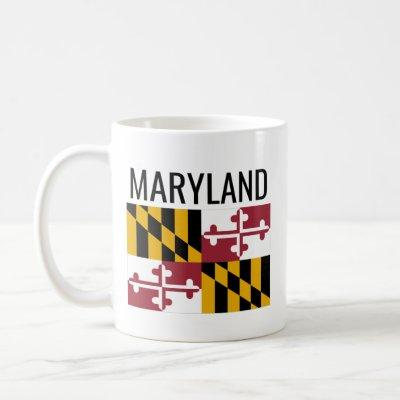 Maryland // USA National State Flag Coffee Mug