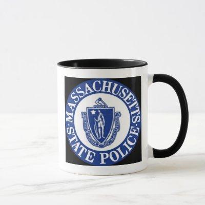 Massachusetts State Police/Thin Blue Line Mug