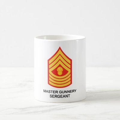 Master Gunnery Sergeant Coffee Mug