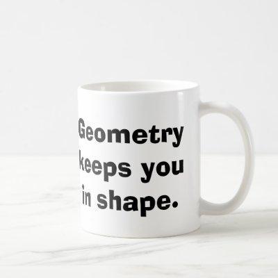 Math Geometry Mug