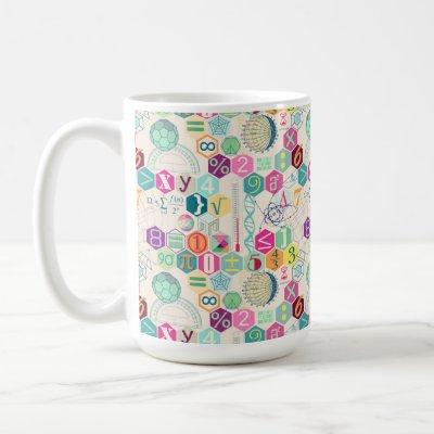 Math in color (Pink) Coffee Mug