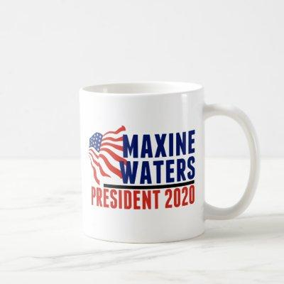 Maxine Waters for President 2020 Coffee Mug