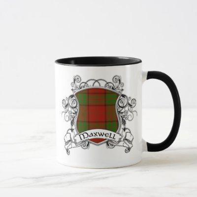 Maxwell Tartan Shield Mug