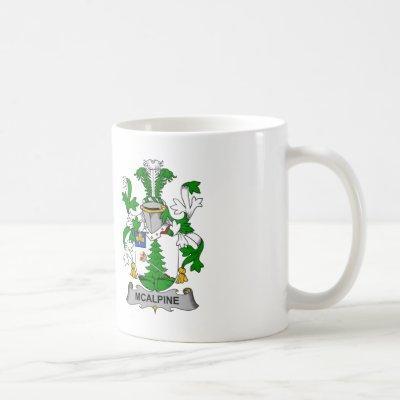 McAlpine Family Crest Coffee Mug