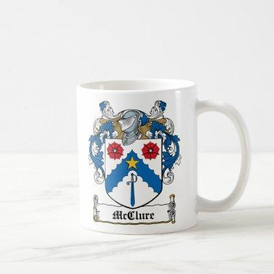 McClure Family Crest Coffee Mug