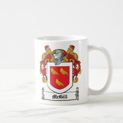 McGill Family Crest Coffee Mug