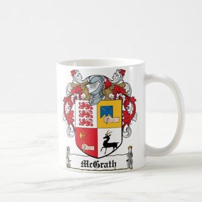 McGrath Family Crest Coffee Mug