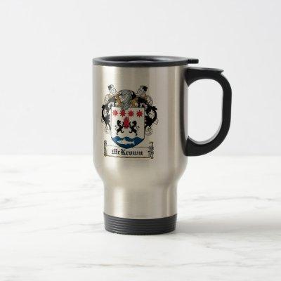 McKeown Family Crest Travel Mug