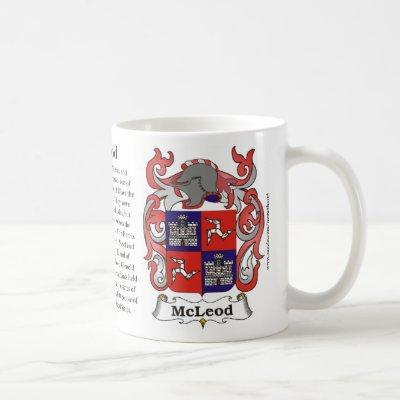 McLeod, the History, the Meaning and the Crest Coffee Mug