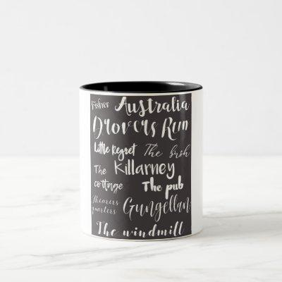 McLeod's Daughters Locations Mug