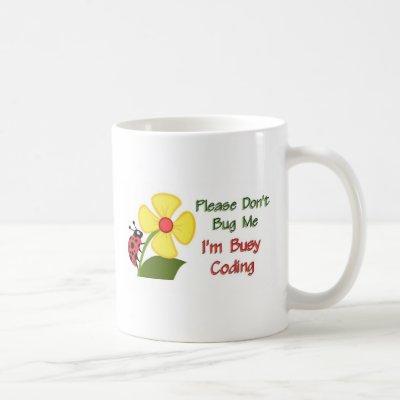 Medical Coder Ladybug Coffee Mug