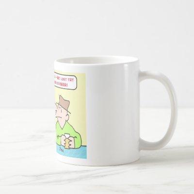 medical marijauana beer prescription coffee mug