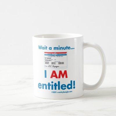Medicare I AM Entitled Mug