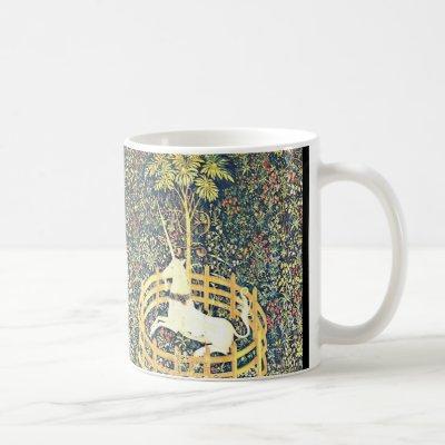 Medieval Unicorn Tapestry - Mug