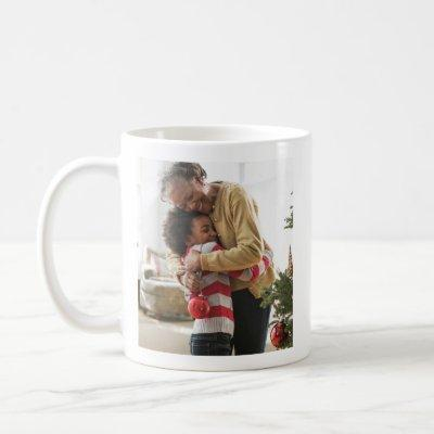 Memorable Family Holiday Christmas Photo Mug