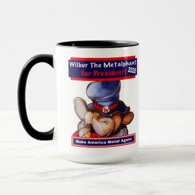 Metalphant for President 2020 Mug