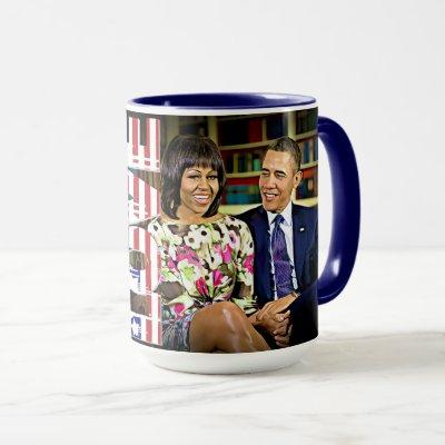 Michelle & Barack Obama Already Made America Great Mug