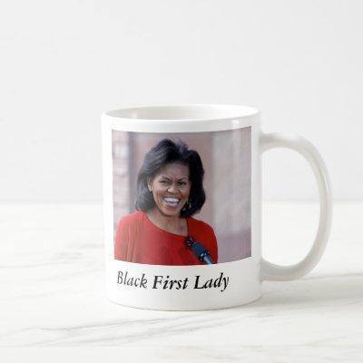 michelle obama, Black First Lady Coffee Mug