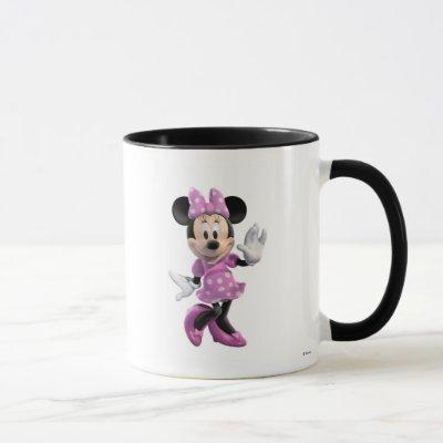 Mickey & Friends Minnie in Pink Polka Dots Mug