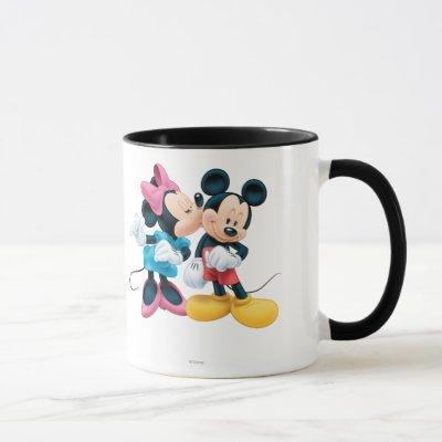 Mickey & Minnie | Kiss on Cheek Mug
