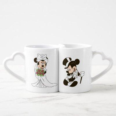 Mickey & Minnie Wedding | Getting Married Coffee Mug Set